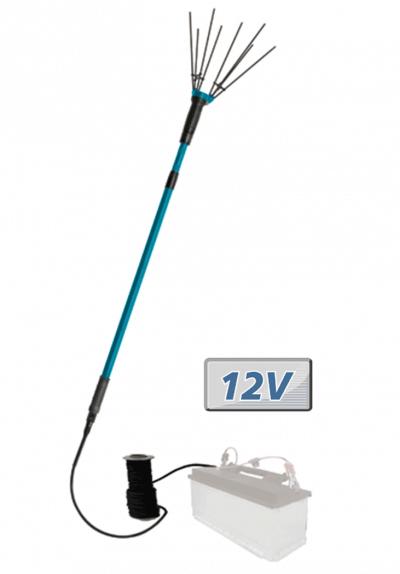 Varejador de azeitonas a bateria Auto 12V. HL120D. Qualidade, garantia e fabrico MAKITA Ideal para varejar de forma profissional ou particular os olivais.