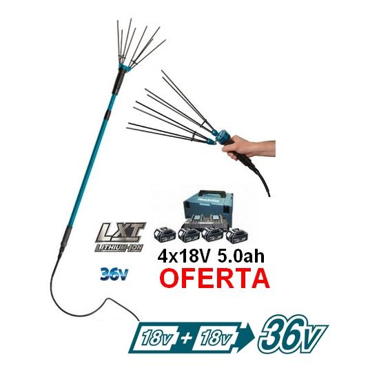 HL360DZBL4 – 4 baterias x18V5.0ah