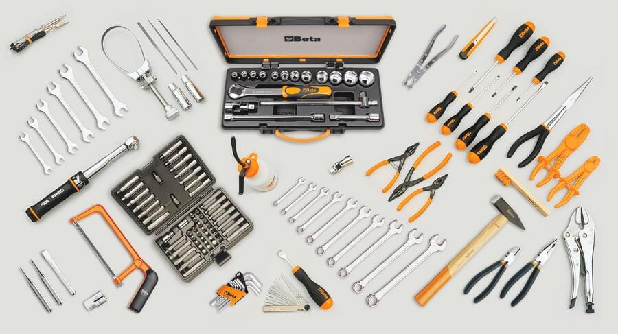 Beta Ferramentas Reparação de motociclos módulos e sortidos de ferramentas profissionais