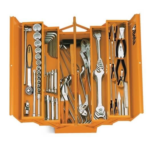 Mala de ferramentas Beta com divisórias
