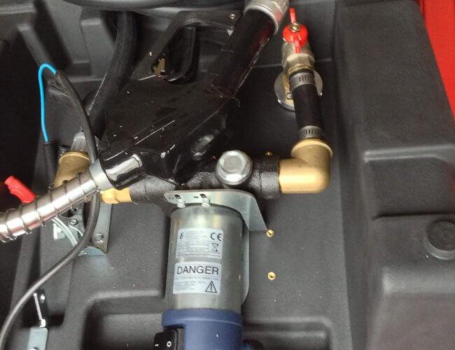 Depósito de Combustível gasóleo 220l