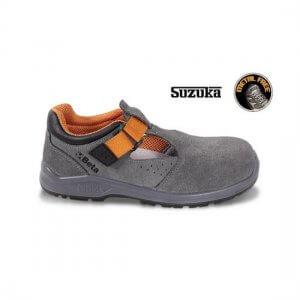 Sapato de trabalho aberto beta - sola 7216SN - sandália 1